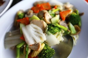 stir fried vegetable at Lae Lay Grill