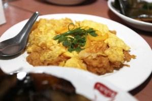 omelette at Phu Nga Baan Khanom