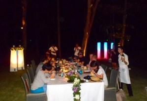 dinner at the Sheraton Krabi