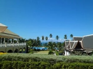 view from the lobby of Sofitel Krabi