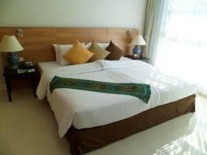 bedding at Kantary Bay Resort