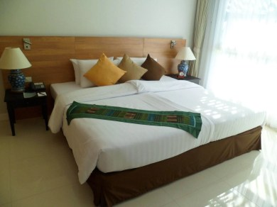 bedding at Kantary Bay Resort