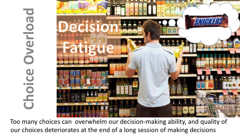 Choiceoverload