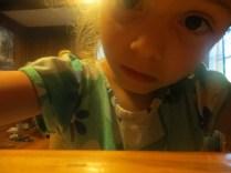 """Her """"Proof of Life"""" selfie. ;-)"""
