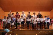 III Encuentro Guitarra Suzuki - También diplomas para los más peques