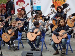 Jóvenes guitarristas