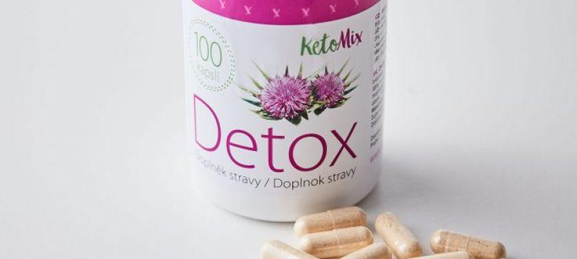 Detox podporuje chudnutie