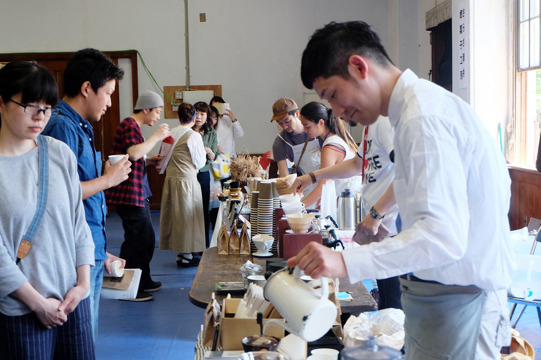ENJOY COFFEE TIME in 元・立誠小学校