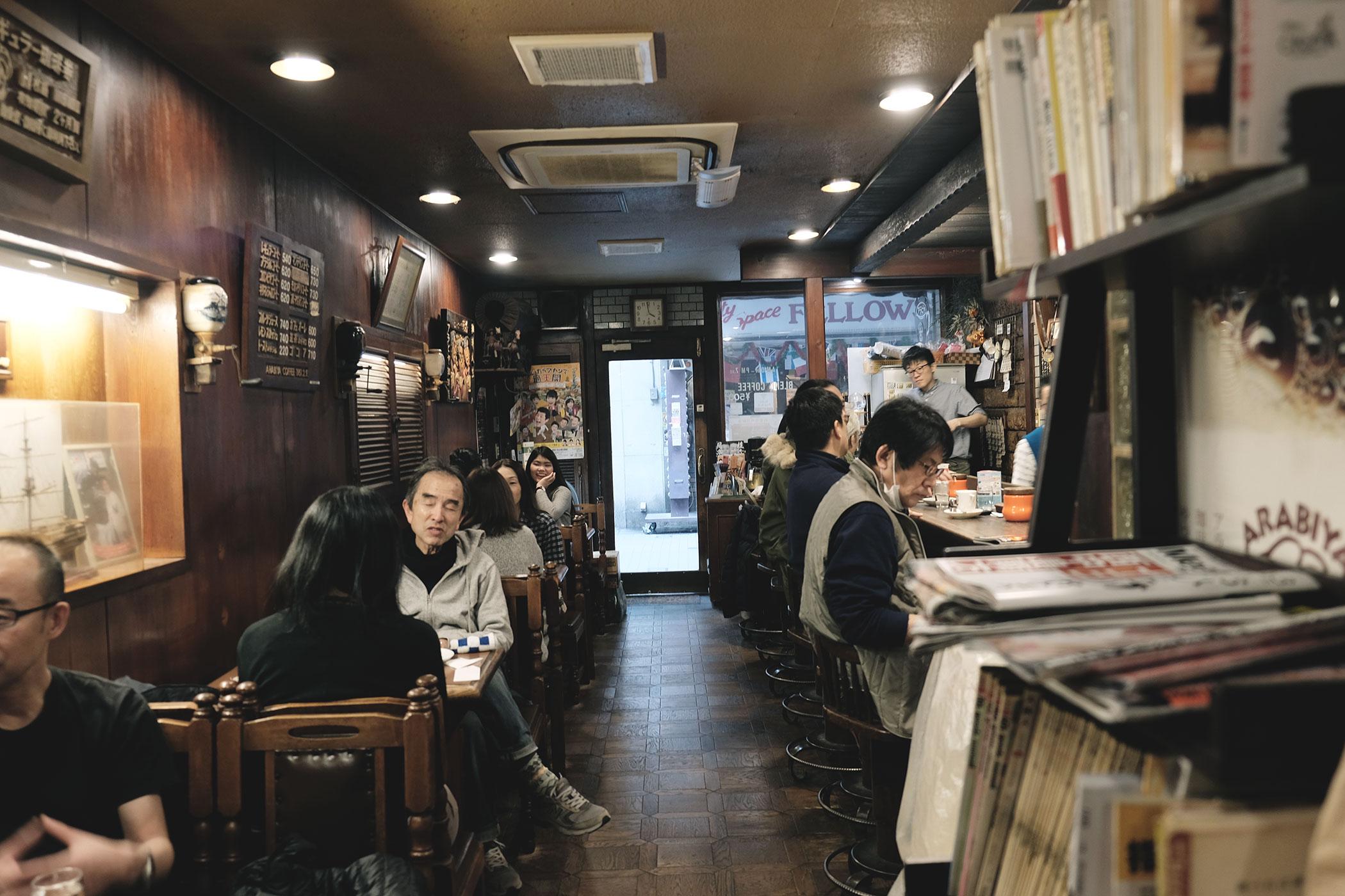 アラビヤコーヒー 大阪・難波
