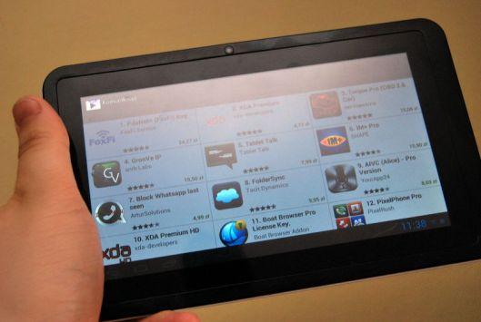 GoClever R76.2 został wyposażony w Sklep Play, dzięki czemu możemy zainstalować dodatkowe aplikacje