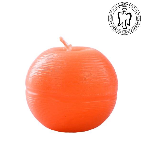 Oranžová koule, Andělská svíčkárna, e-shop, výrobce, Orange ball, candle, supplier, Angels candles 04