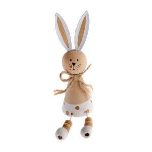 Velikonoční dekorace, velikonoční výzdoba, dřevěný zajíček, zajíc, Easter decoration, wooden bunny, bunny