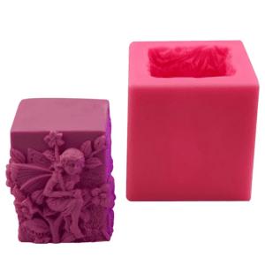 Silikonová forma na výrobu svíček, víla, Silicone mold for candle making, fairy, domácí výroba svíček, potřeby na svíčky 01