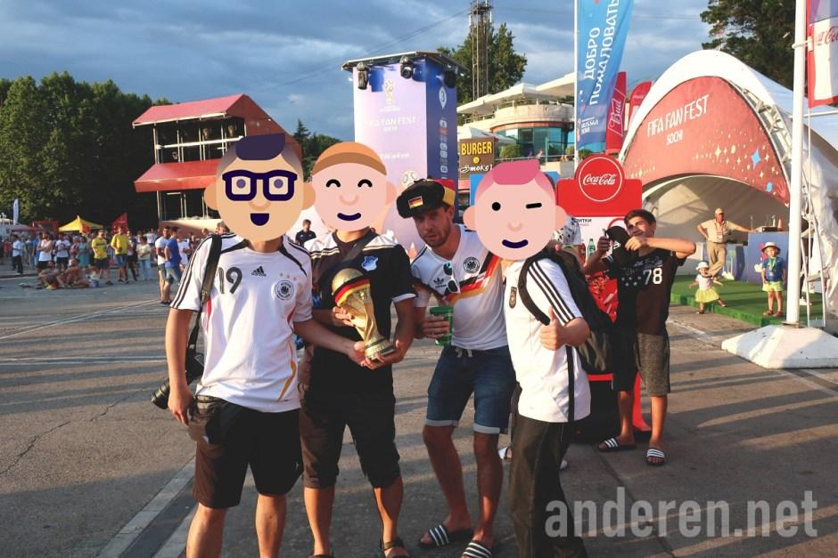 Sochi, Fan Fest, Russia, 2018 World Cup, Projekt Anderen
