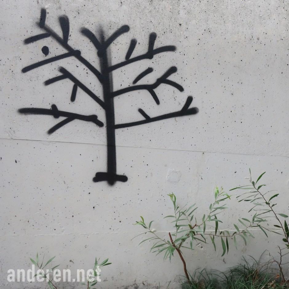 華(wah or hua), graffiti, Projekt Anderen