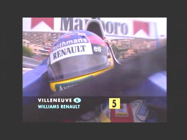 Jacques Villeneuve, Formula 1 1996 Monaco Grand Prix, 韋侖洛夫, 1996年一級方程式摩納哥站