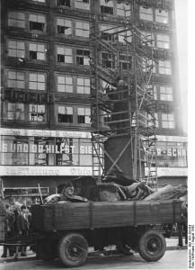 7. Der Abbau der Berolina im Jahre 1942.