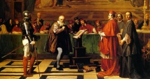 Holy Inquisition, Trial Scene