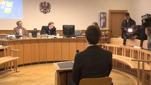 Josef S. aus Jena, Verhandlungssaal, Straflandesgericht Wien, 2014
