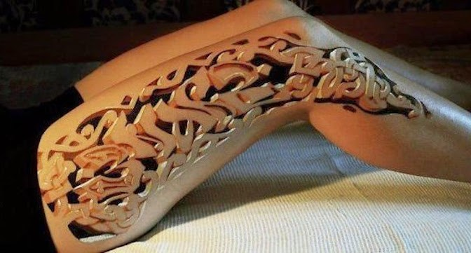 Amazing 3D Tattoos