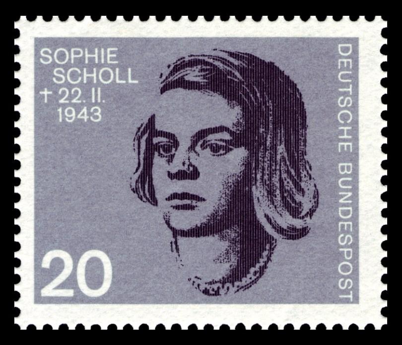 Sophie Scholl, Stamp