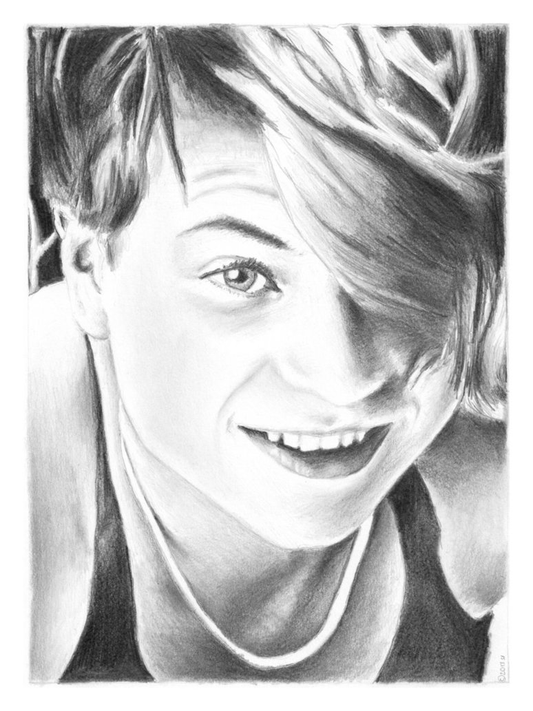 Sophie Scholl, Drawing