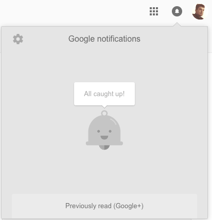 Old YouTube notifications layout, still used on Google and Google+, hitherto referred to as 'Google notifications layout'.