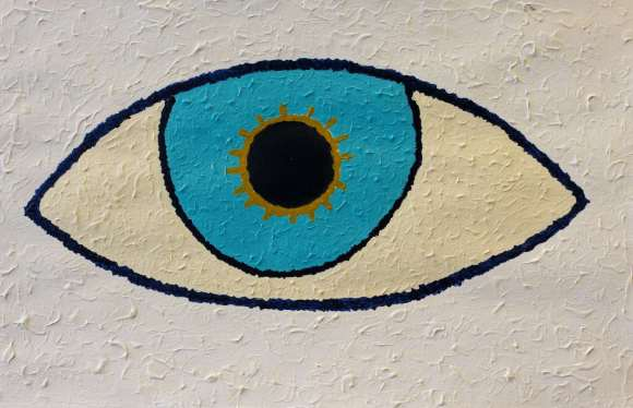 Serpil Agca - Blauw oog