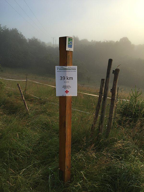 Irgendwas stimmt hier nicht: Wir können nicht in knapp 25 Minuten schon 3 Kilometer gelaufen sein (Foto: Hans-Joachim Schneider)
