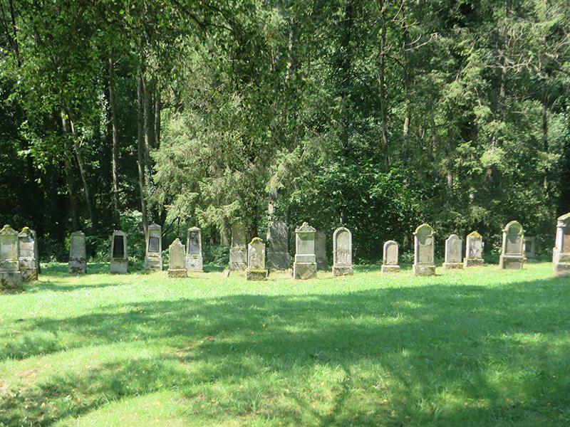 Ein friedlicher Ort: der jüdische Friedhof im Ehrenburgertal (Foto: Hans-Joachim Schneider)