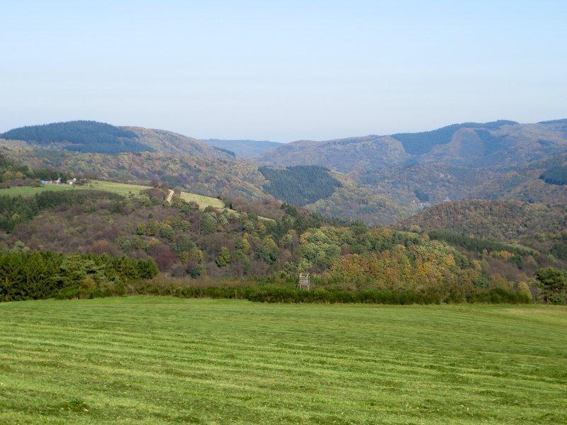 Das ist es, was des Wanderers Herz sucht: Weite, Hügel, Natur pur