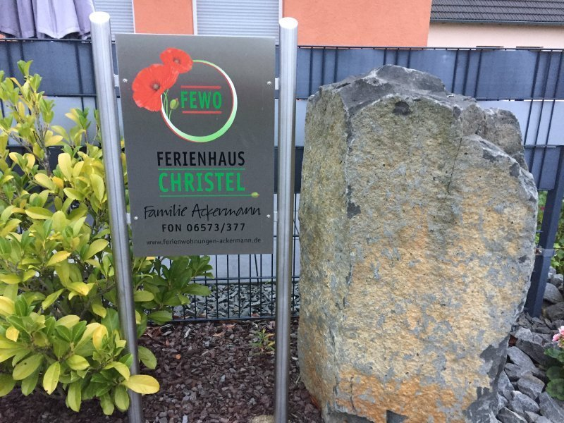 Ferienwohnung Ackermann, hier waren vier Blogger untergebracht und meine Suzi