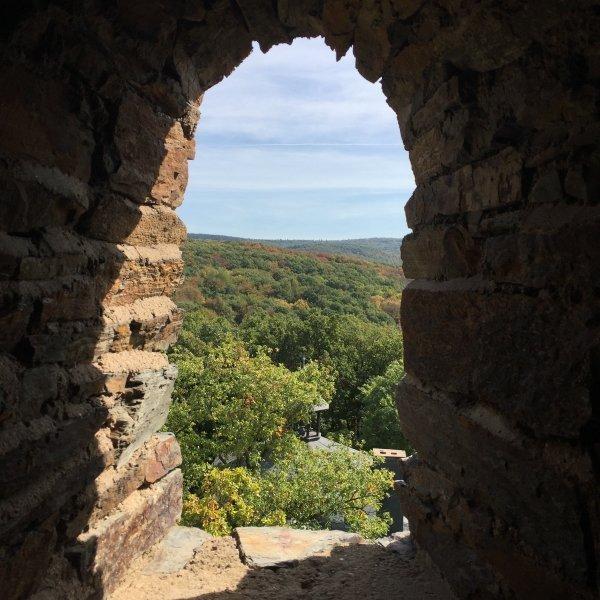 Krausbergturm, Blick nach Südwesten
