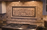 Large hand pressed decorative tiles by Andersen Ceramics ...