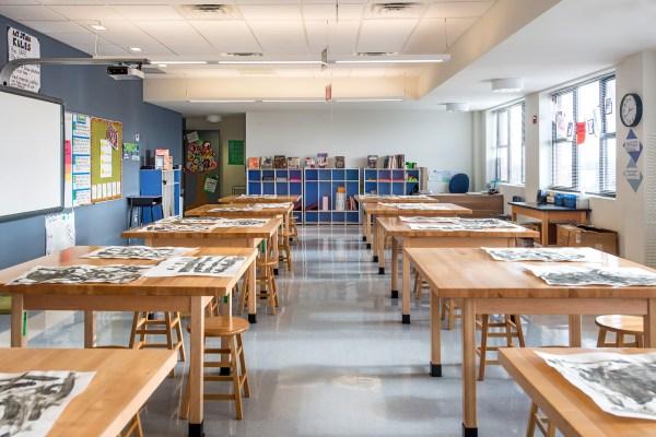 High School Art Room Classroom