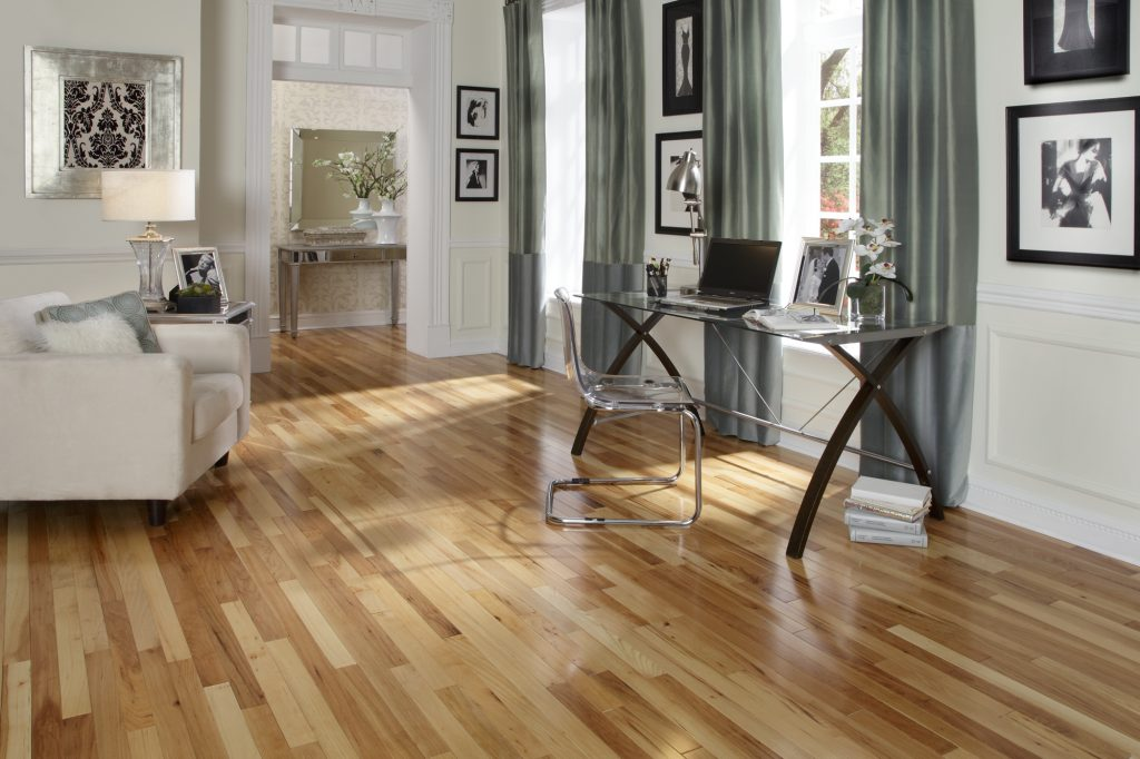 Featured Floor Natural Hickory Hardwood  Anders