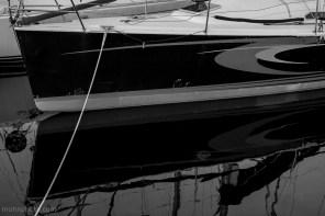 Sailboat B&W