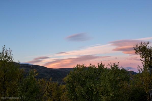 Sunset at Geilo