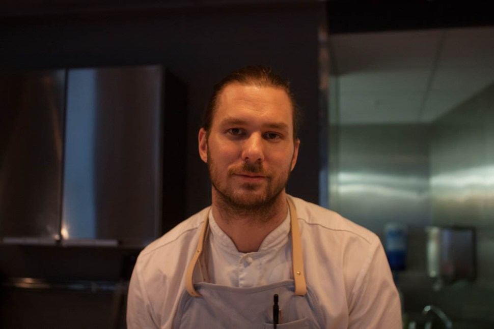 Head chef and owner Mikael Svensson.