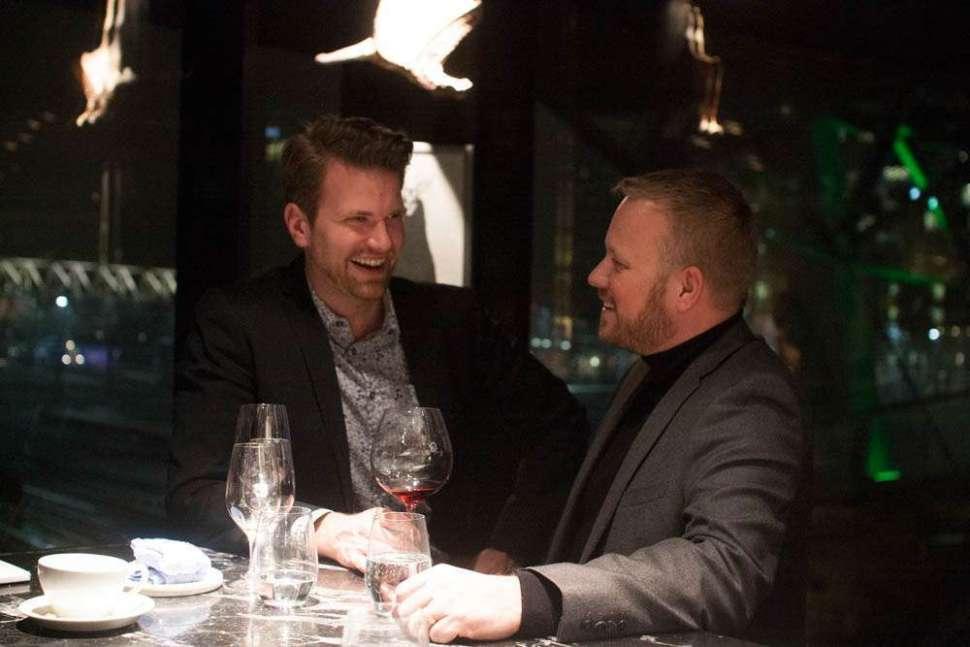 Me and André Blomberg-Nygård.