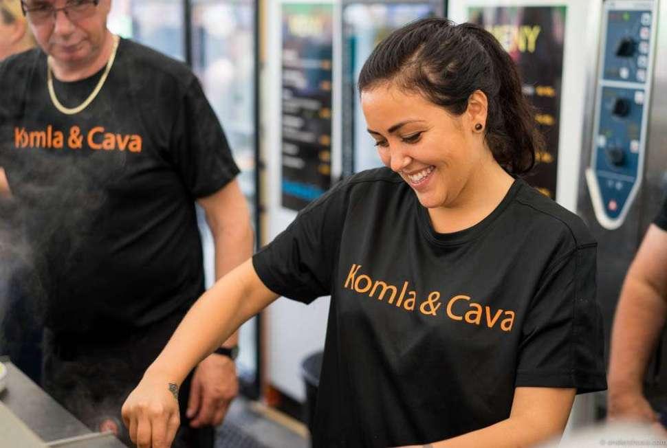 Komla & Cava. No doubt the best name of all contributors