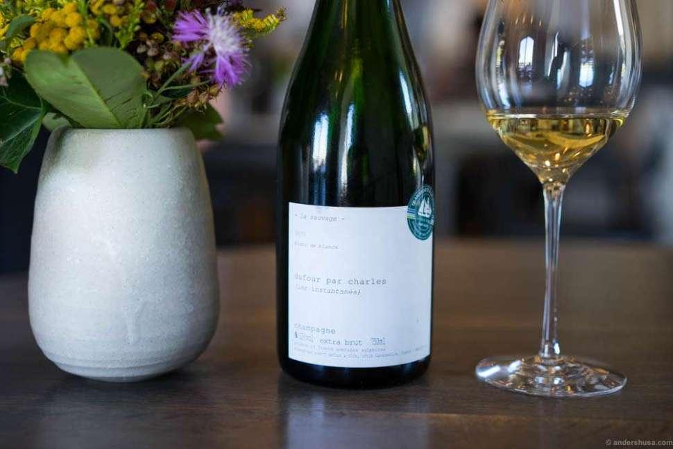 2007 La Sauvage, Dufour par Charles, Champagne