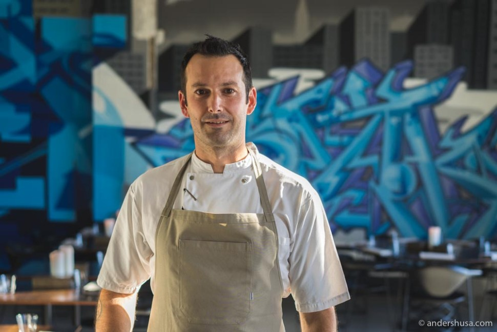 Matt Orlando – chef & owner of Amass.