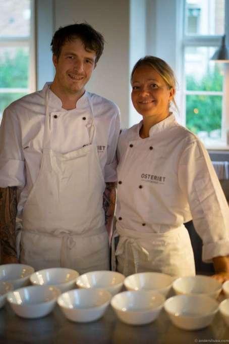 Jonas and Britt run the kitchen
