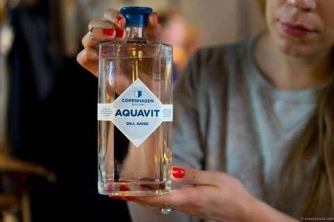 Copenhagen Aquavit with dill flavor