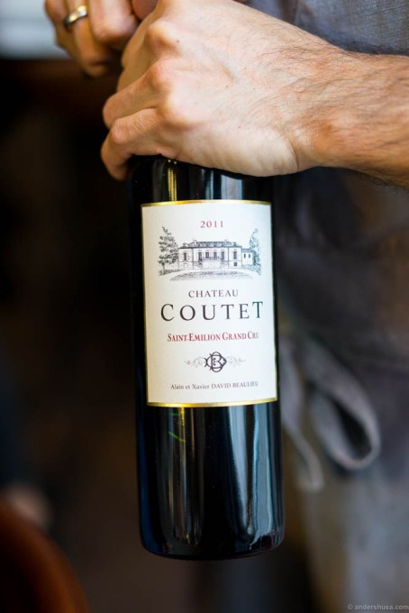 2011 Chateau Coutet, Saint-Emilion Grand Cru