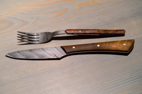 Cutlery by Tobbe Lundström – the famous knife maker in Åre