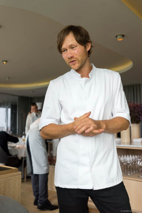 Head chef Rasmus Kofoed