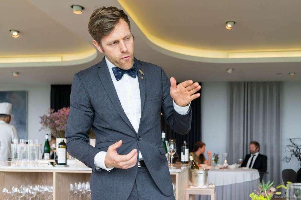 Co-founder, -owner, and wine & restaurant director Søren Ledet