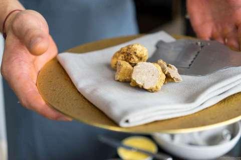 White truffles ...